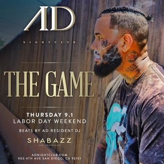 Labor Day Weekend at AD Nightclub hosted by The Game