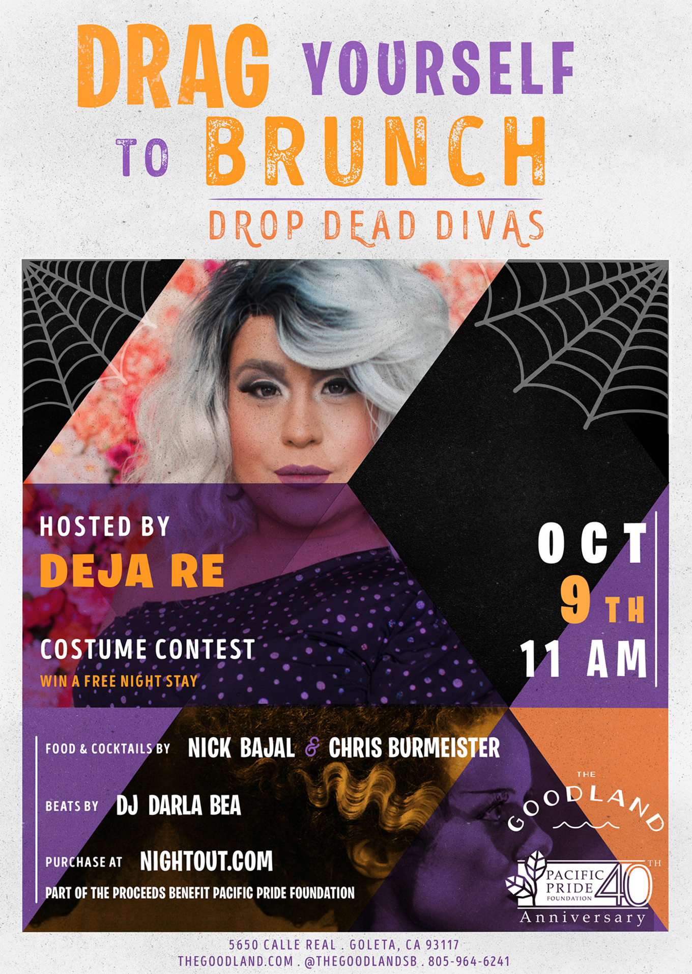 drag yourself to brunch - tickets - the goodland hotel , santa