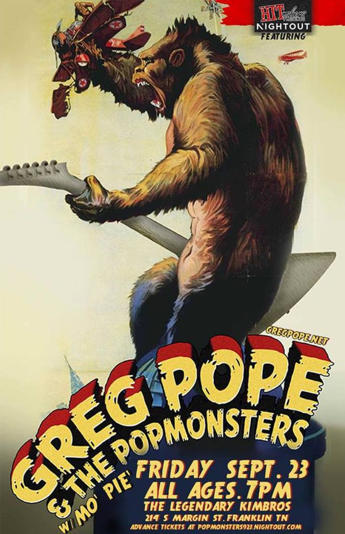 Greg Pope and the Pop Monsters