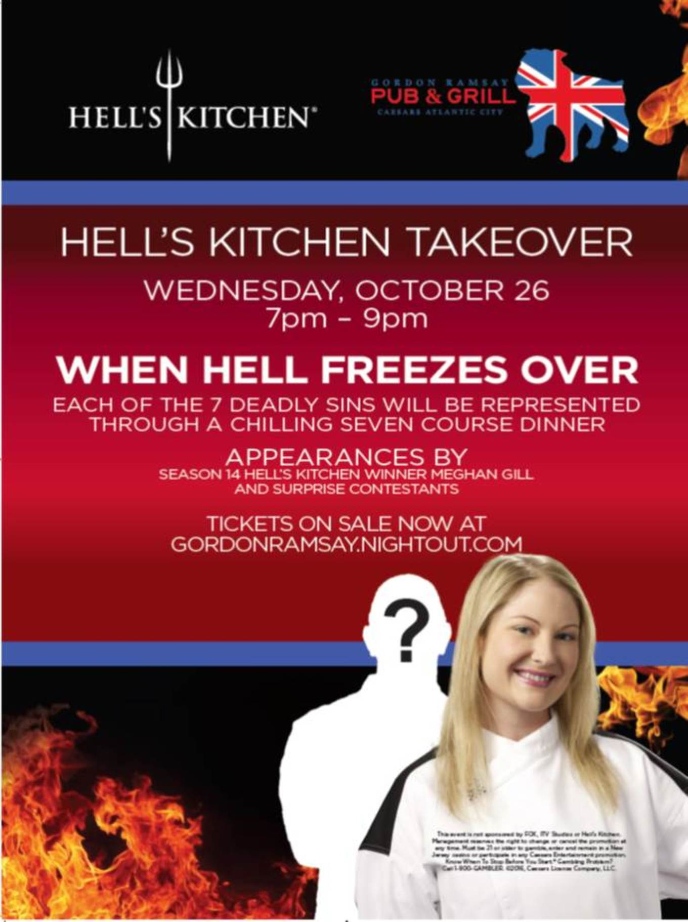 Hell S Kitchen Takeover October 2016 Halloween Edition