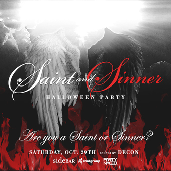 Saint & Sinner Halloween Party at Sidebar