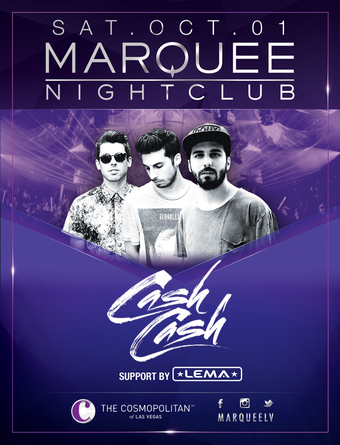 Cash Cash - Marquee Nightclub