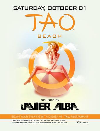 Javier Alba - TAO Beach