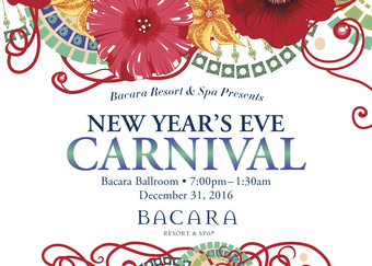 New Year's Eve Brazilian Carnival Party