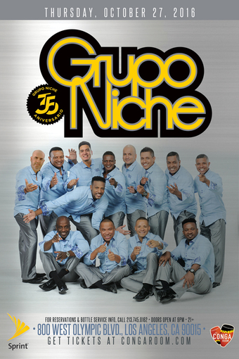 Sprint and the Conga Room present Grupo Niche