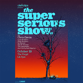 The Super Serious Show with Chris Garcia