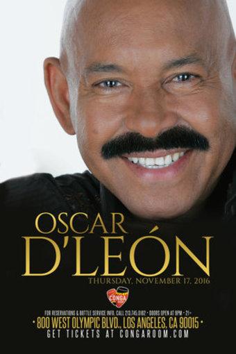 Conga Room presents Oscar De León