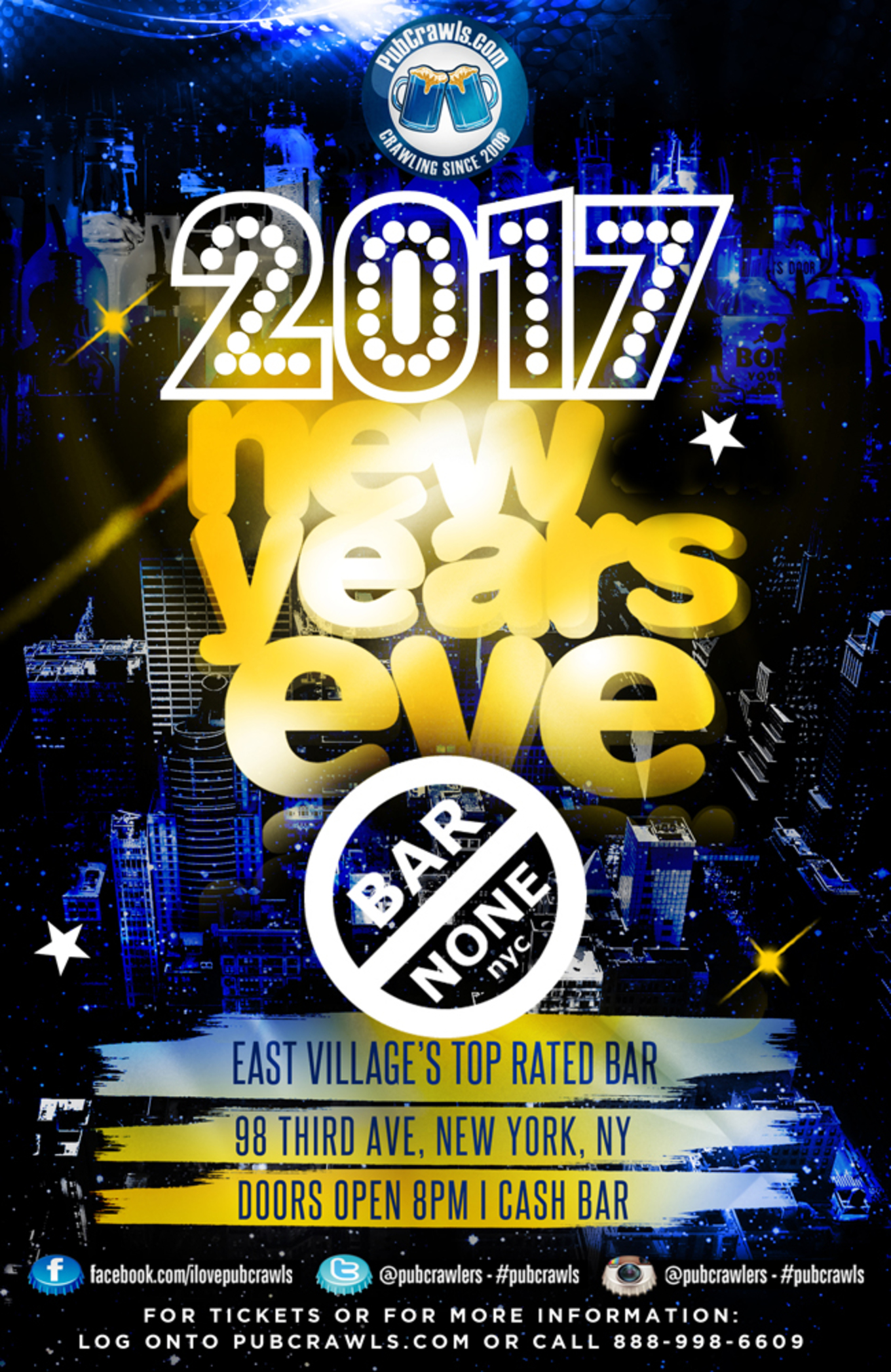 New York New Years Eve 2017