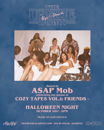 Halloween at Up & Down Hosted by ASAP Mob !!