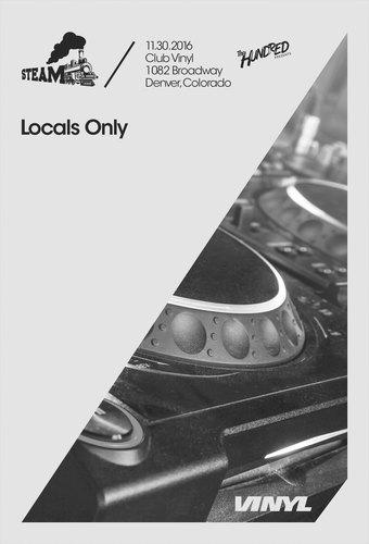 Locals Only Tickets Club Vinyl Denver Co November