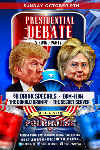 Debate Tailgate at Village Pourhouse