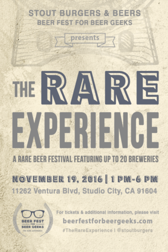 Beer Fest For Beer Geeks Presents: The Rare Experience