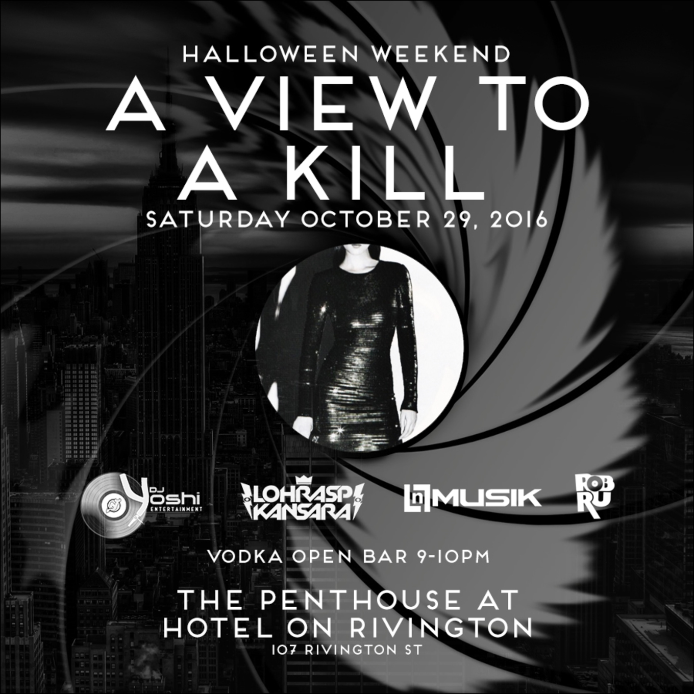 A View to a Kill | Penthouse at the Hotel on Rivington | 10/29/16 ...