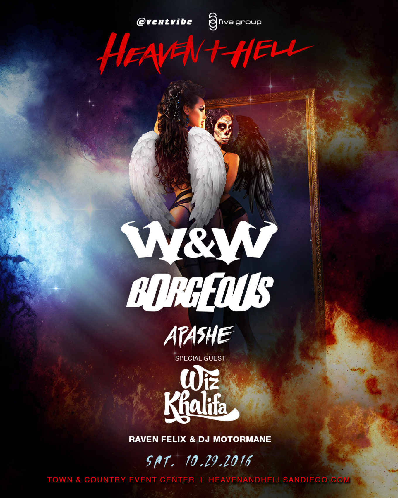 Heaven and Hell • San Diego's Biggest Halloween Costume Party ...