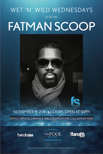 Wet N Wild Wednesdays with Fatman Scoop