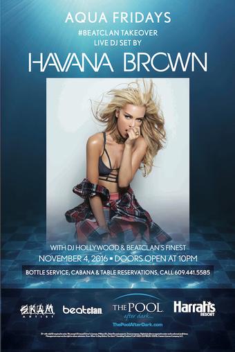 Aqua Fridays with DJ Havana Brown