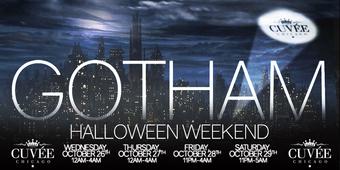 GOTHAM Halloween Weekend at Cuvee (Friday)
