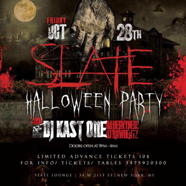 Slate NYC Halloween Party 2016 Tickets - Tickets - Slate NY, New ...