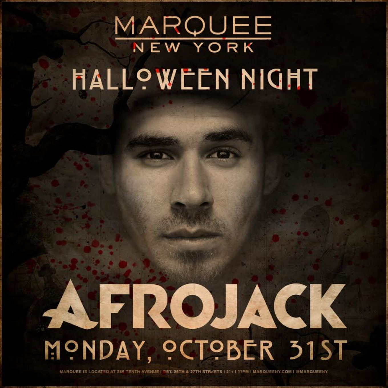 Afrojack Halloween Night at Marquee NYC - Tickets - Marquee New ...