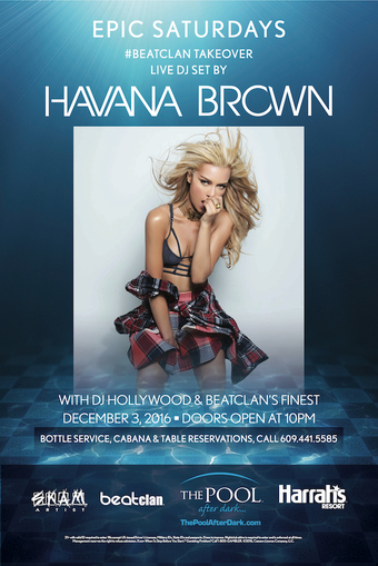 Epic Saturdays with Havana Brown