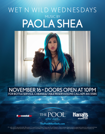 Wet 'N' Wild Wednesdays with Paola Shea