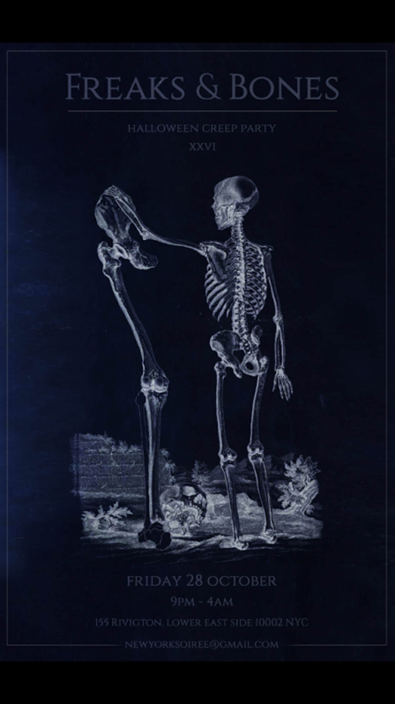 Halloween Creepy Party at Freak & Bones - Freak & Bones, New York ...