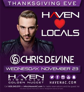Chris Devine- Thanksgiving Eve