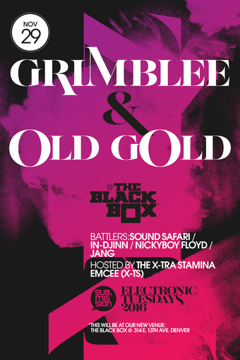 Electronic Tuesdays with Grimblee, Old Gold, Dalek One and More