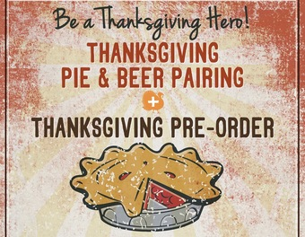 Thanksgiving Pie and Beer Pairing