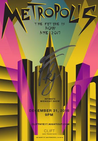 Metropolis: NYE 2017 at Clift w/ FKJ