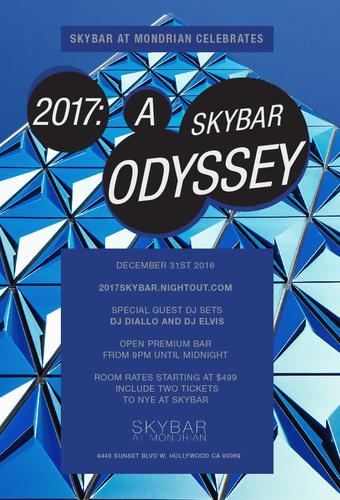 2017: A Skybar Odyssey