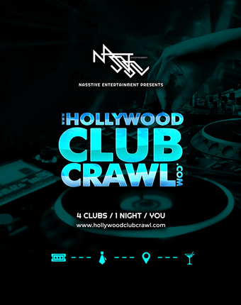 HOLLYWOOD CLUB CRAWL ONLINE TICKET
