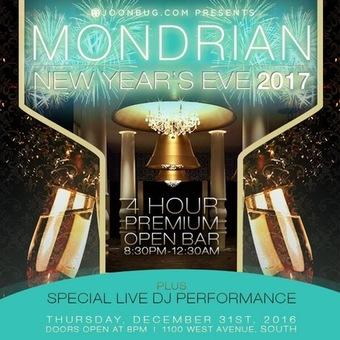Mondrian South Beach NYE