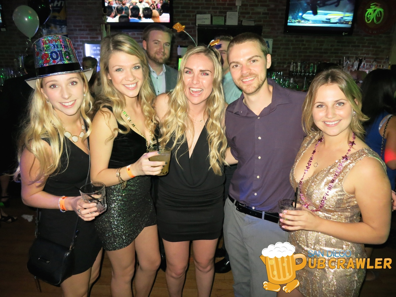 Open Bar New Years Eve Pub Crawl Tickets Tin Roof San