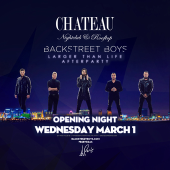 Official Backstreet Boys Afterparty