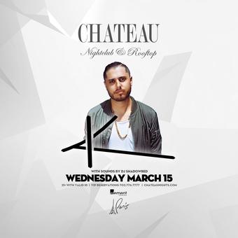 Chateau Wednesdays with DJ Koko