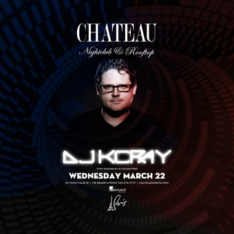 Chateau Wednesdays with DJ KC Ray