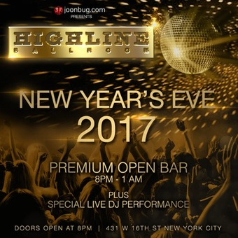New Years Eve at Highline Ballroom