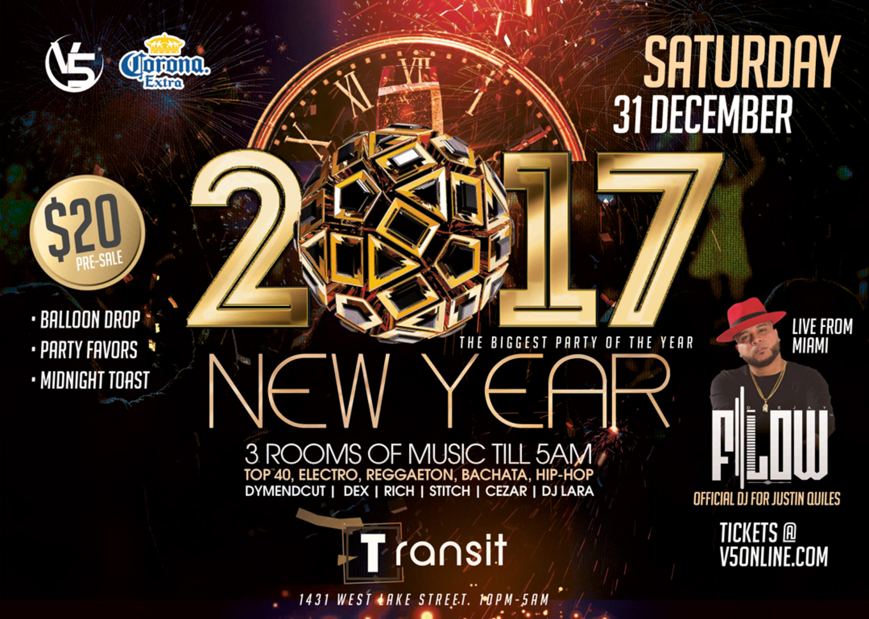 NYE - Transit 21+ - Tickets - Transit Nightclub, Chicago, IL