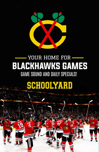 Schoolyard: Your Home for Blackhawks Games