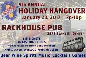 2017 COBG Holiday Hangover