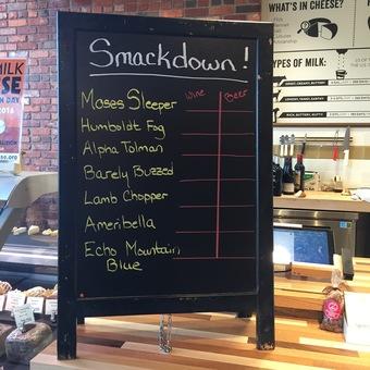 Beer v. Wine Smackdown