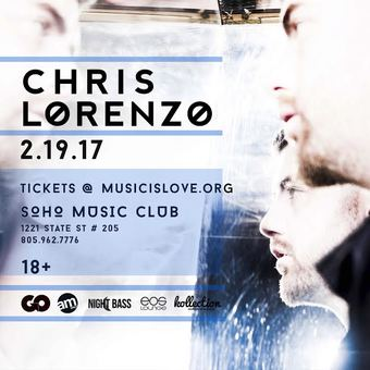 Chris Lorenzo at SOHO Music Club 18+ 2.19.17