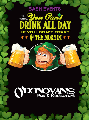 O'Donovan's Bar & Grill : 9:00am - 1:00pm #CDaD
