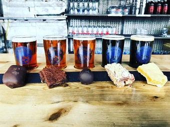 Denver Beer Co's Valentine Beer and Chocolate Pairing