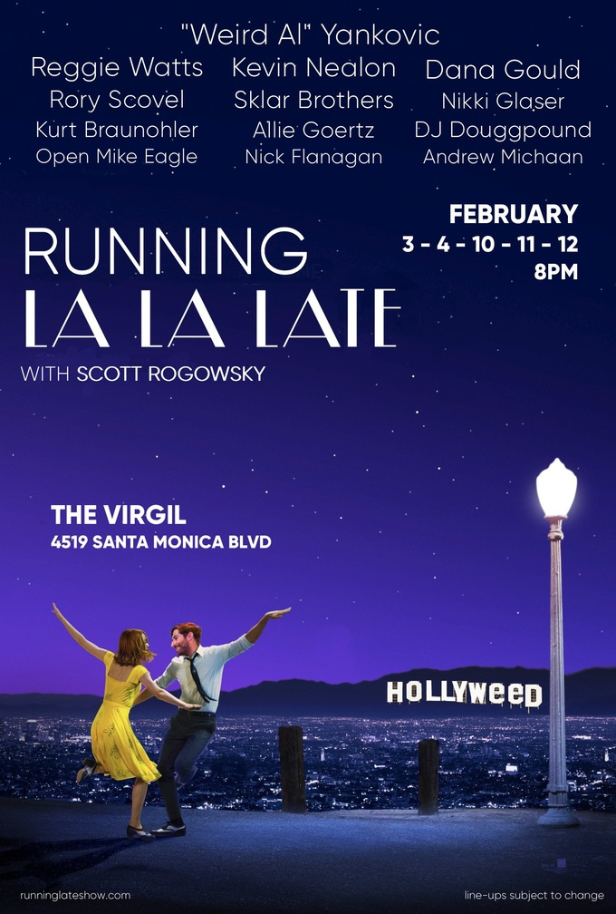 Running Late with Scott Rogowsky, FEB 3RD