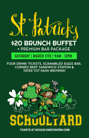St. Patrick's Day Party at Schoolyard 2017