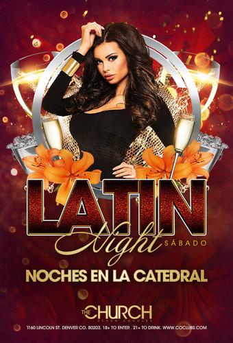 Noches en la Catedral: Latin Nights