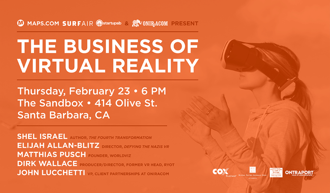 The Business of Virtual Reality - Tickets - The Sandbox