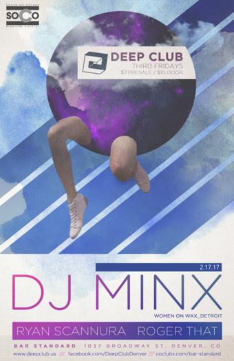 Deep Club Presents: DJ Minx